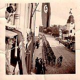The arrival of Wehrmacht in Sudeten Broumov, photo: www.antikomplex.cz