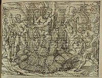 Hieronymus starb in den Flammen