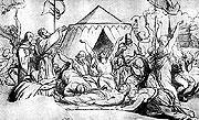 'Muerte de Jan Zizka' de Josef Manes