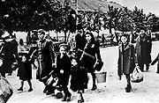 The Terezín Ghetto during the war