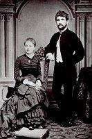Leoš Janáček and his wife