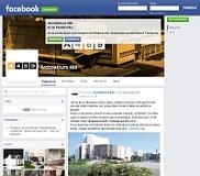 Facebook-Seite des Projektes Architektura 489
