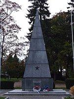Памятник красноармейцам в районе Брно Кралово поле (Фото: Henta, Wikimedia Commons, License Creative Commons 3.0 Unported)