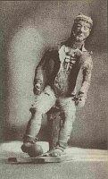 Babinského soška v70. letech, zdroj: archiv autora