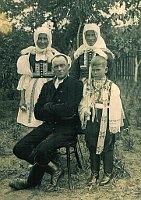 La familia Kotásek en la aldea Ratiškovice, foto: archivo de E. Kotásek