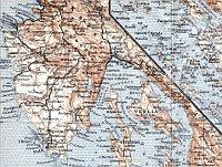 Halbinsel Istrien 1929 (Quelle: Discusmedia, Free Domain)