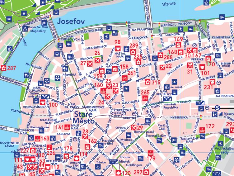 American Auto Finance >> Auto-Mat initiative publishes 'car-free' map of Prague ...