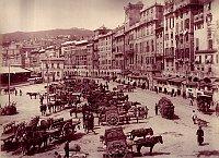 Genua in den 1880er Jahren