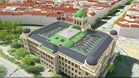 Visualisation of the National Museum reconstruction