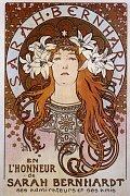 Plakat für Sarah Bernhardt