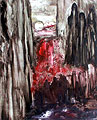 Luna sangrienta sobre una ciudad ensangrentada, 2000