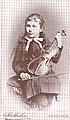 Ema Destinnová shouslemi, kolem roku 1890