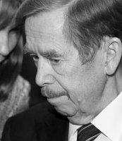 Václav Havel, foto: Tomáš Adamec, Radiodifusión Checa