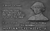Мемориальная доска на ul. Švédská
