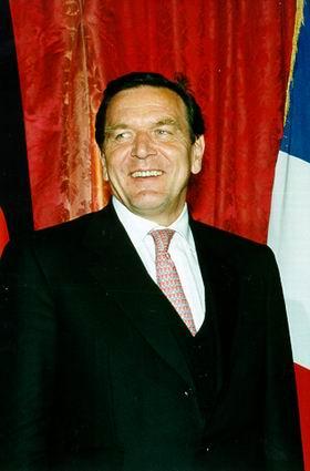 Canciller alemán, Gerhard Schröder
