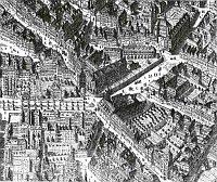 Das Franziskanerkloster und seine Umgebung 1769