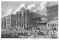 Здание вокзала Прага-Тешнов в 1876 г. (Фото: архив Музея Праги)