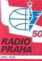 QSL k 50. výročí vysílání Radia Praha