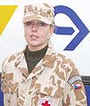 Praporčice Blanka Polanská, foto: autor
