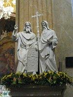 Die heiligen Kyrill und Method (Foto: Martina Schneibergová)