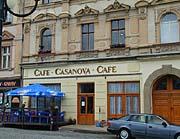 Café Casanova - Duchcov (Foto: Autorin)