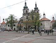Kloster in Krupka-Bohosudov
