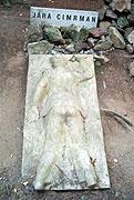 The monument of Jara Cimrman
