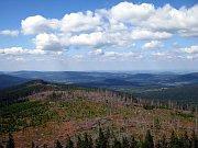 Böhmerwald - Blick vom Mittagsberg (Foto: Barbora Kmentová)