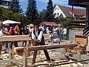 Holzfest in Volary (Foto: Autorin)