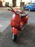 Mikoláš Růžička's moped, photo: Ian Willoughby