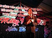 Festliche Ansprache als Auftakt der Neujahrsfeier