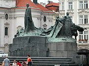 La statue de Jan Hus