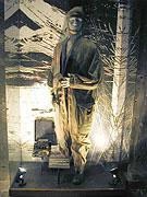 Dans la crypte de l'église Saint-Cyrille et Méthode