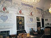 The interior of the Castle Cesky Sternberk
