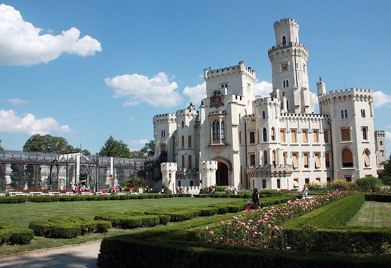 Châteaux de Hluboká, photo: Barbora Němcová