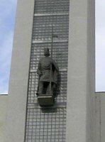L'église Saint-Venceslas avec la statue, photo: Jaroslava Gregorová