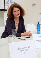 Lucie Slavíková Boucher, foto: autorka