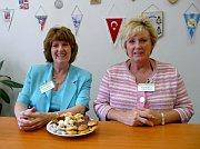 Vera Darlingtonová (vlevo) aMari Roweová, foto: autorka