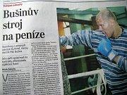 Zdroj: Hospodářské noviny, 13.7.2009