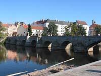 Le«Pont du cerf» à Písek