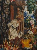 Verbrennung des Kirchenreformators Jan Hus