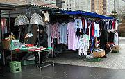 Market stall in Prague