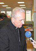 Bischof von Pilsen, Frantisek Radkovsky (Foto: Autorin)