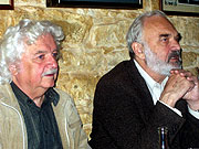 Ladislav Smoljak et Zdenek Svěrák, photo: Archives de Radio Prague