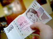 Banknote mit Bozena Nemcova
