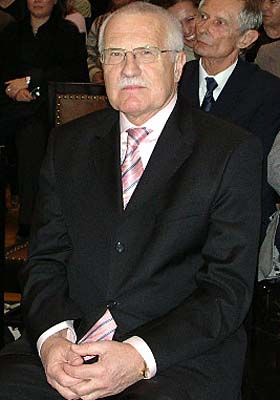 Václav Klaus, photo: archive of ČRo 7 - Radio Prague