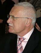 Václav Klaus, photo: Archives de ČRo7