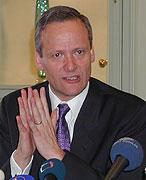 Foreign Minister Cyril Svoboda