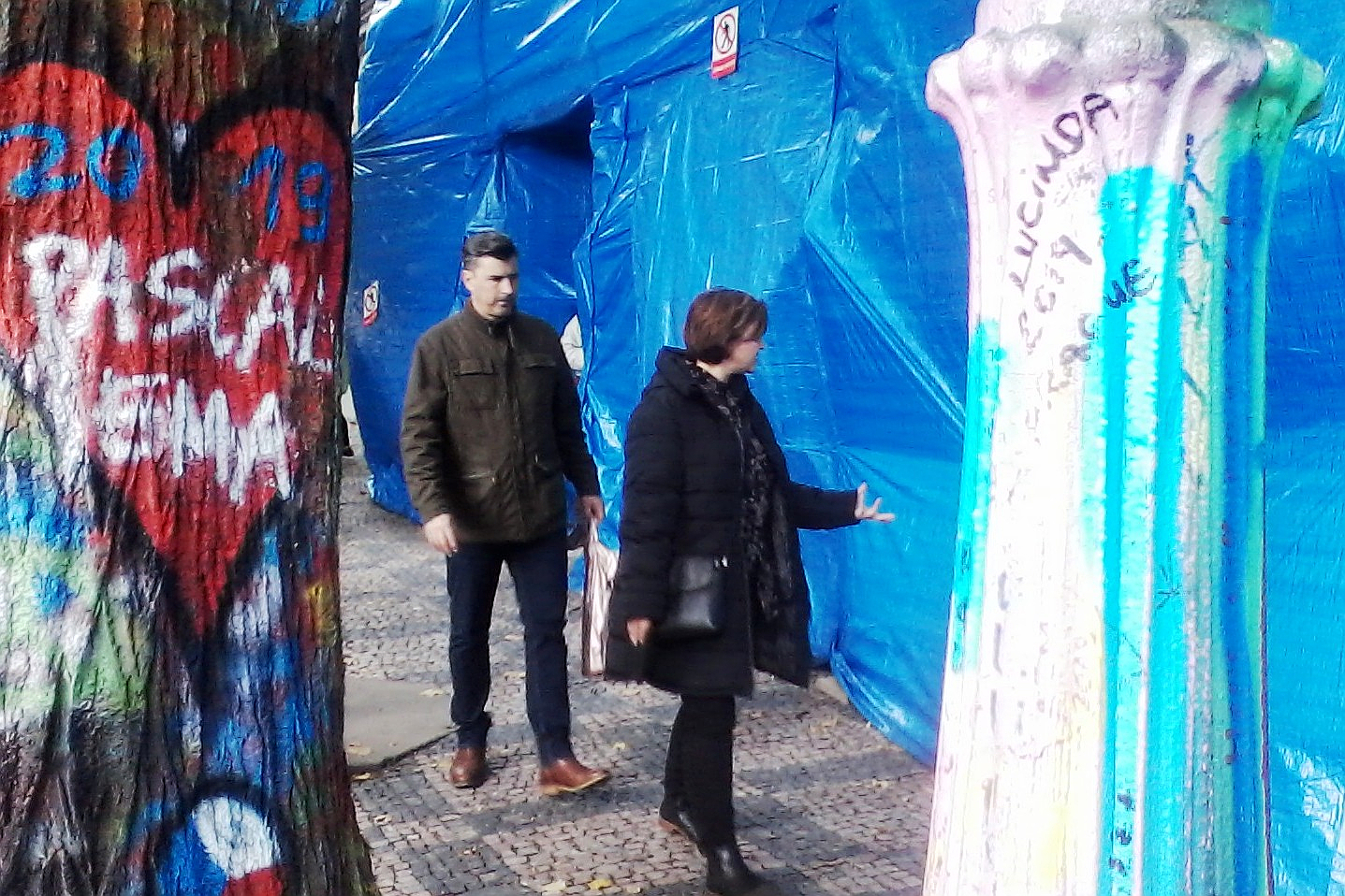 Prague's famous Lennon Wall undergoing transformation | Radio Prague International