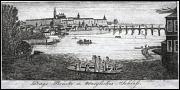 Charles Bridge, engraving by J. Hasse